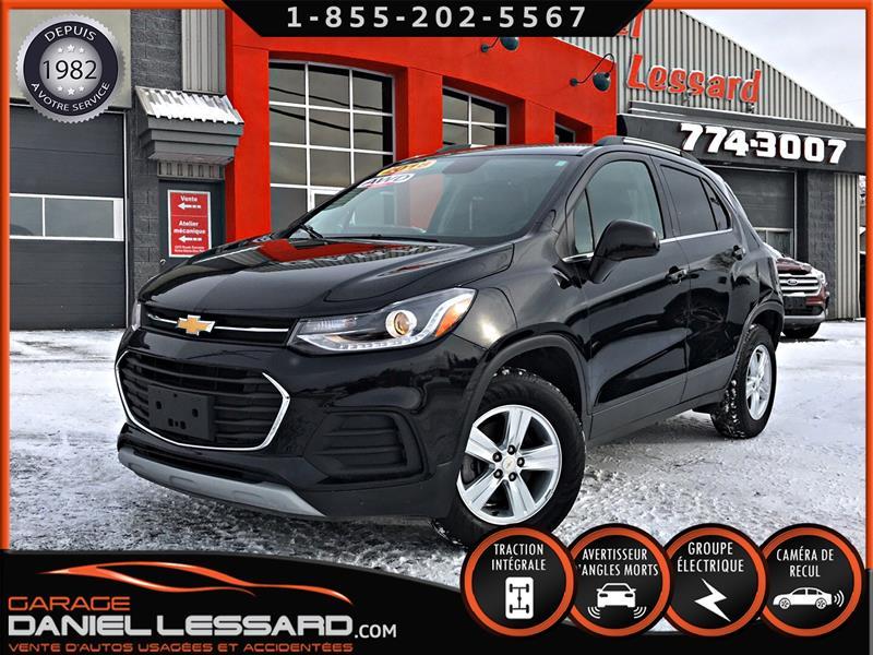 Chevrolet Trax 2018 LT AWD, MAG, TOIT, CAM RECUL, A VOIR #89127