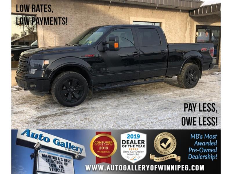 2014 Ford F-150 FX4 *4x4/Navi/B.tooth/Back.Cam/Htd Lthr/Roof #24023A