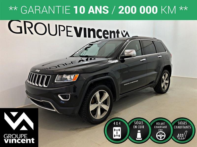 Jeep Grand Cherokee 2016 LIMITED 4X4 ** GARANTIE 10 ANS ** #9684AT