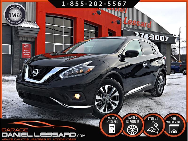 Nissan Murano 2018 SV AWD,GPS, TOIT PANO, MAGS 18', ET BIEN +++ #88482