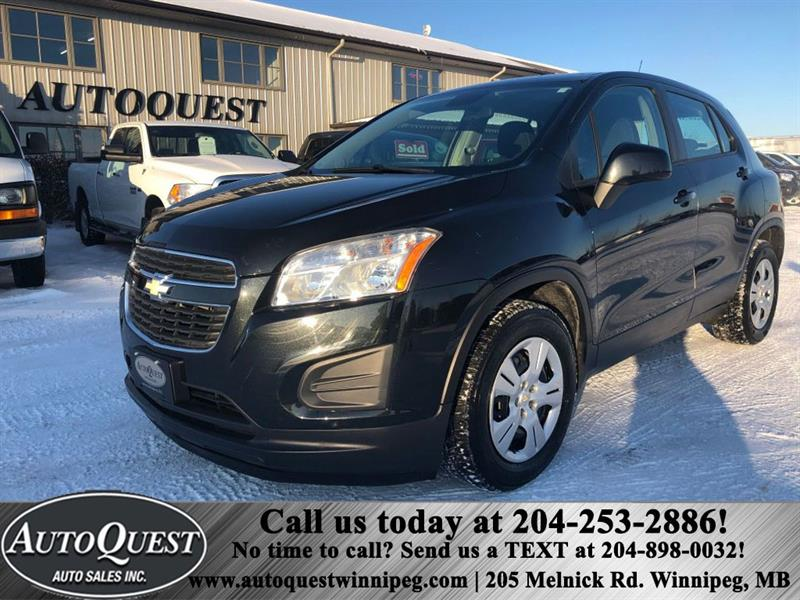 2013 Chevrolet Trax LS FWD 4dr 4 CYL #6029