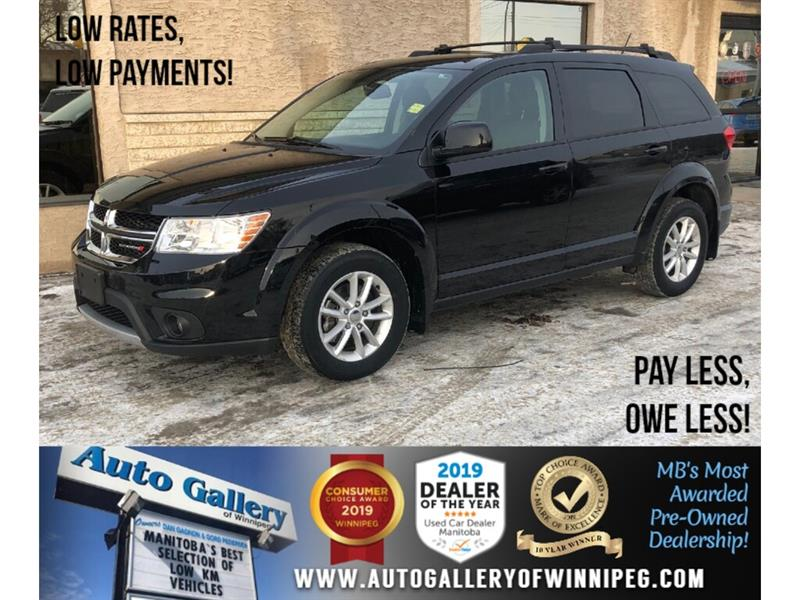 2017 Dodge Journey SXT *Accident-Free/AWD/B.tooth/Rem.Start #24243