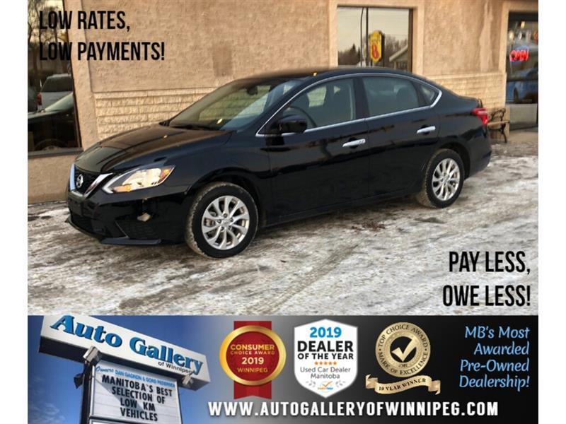 2018 Nissan Sentra SV *MB Unit/Acc-Free/Navi/Htd Seats/Roof #24246