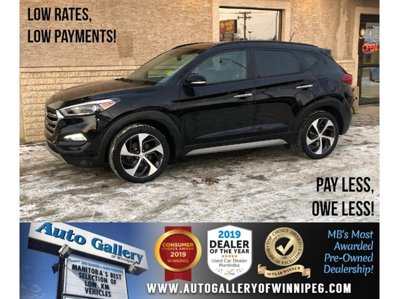 2017 Hyundai Tucson SE *1 Owner/AWD/B.tooth/Htd Lthr/Roof #24225