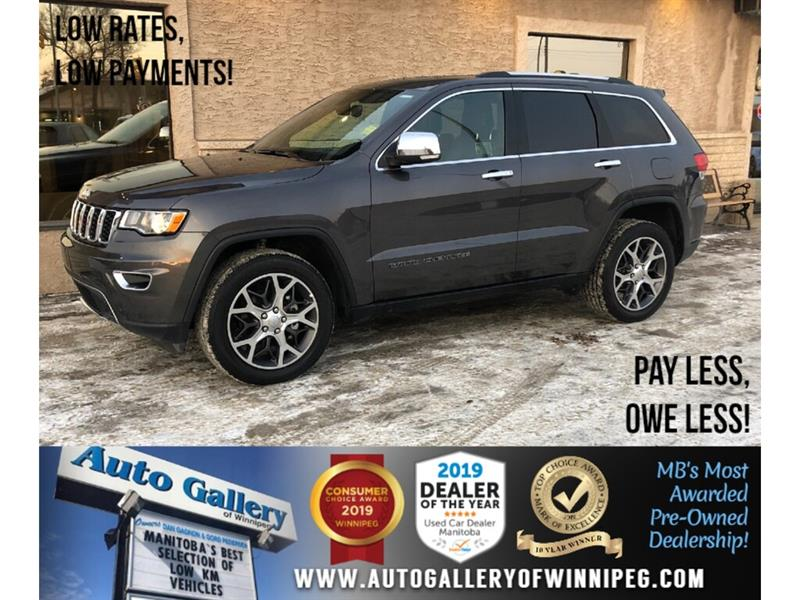 2019 Jeep Grand Cherokee Limited *AWD/Navi/B.tooth/Htd Lthr/Pano Roof #24241