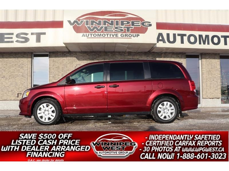 2018 Dodge Grand Caravan SE CANADIAN VALUE PACKAGE 8 PASS, CLEAN *$115 B/W #W5301