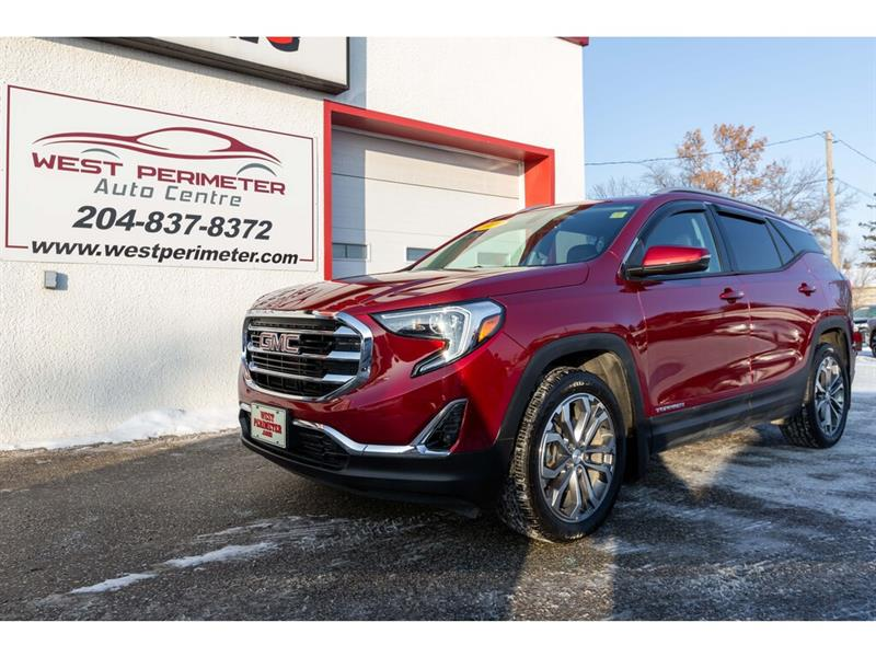 2019 GMC Terrain SLT AWD **Htd.Lthr. Panoramic Roof/ Pwr Liftgate** #5655