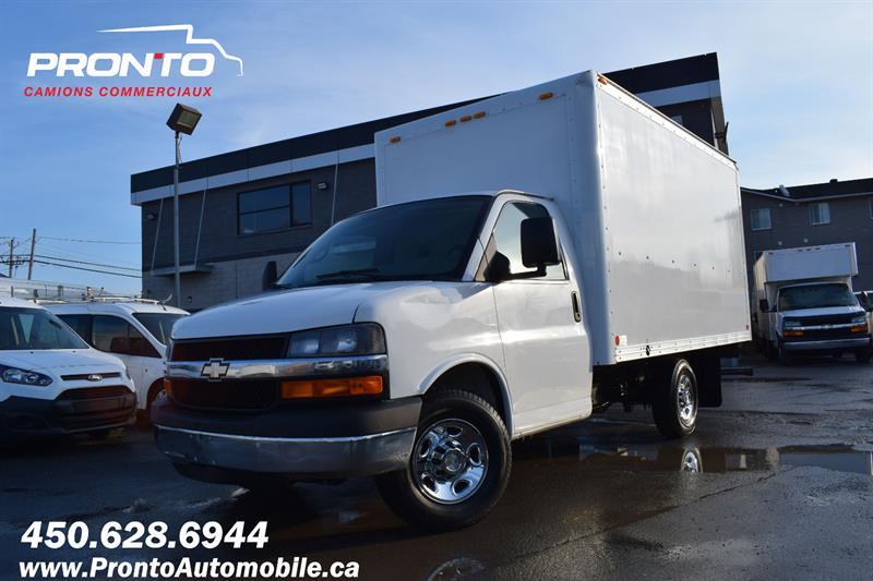 Chevrolet Express Commercial Cutaway 2014 3500 ** CUBE 13 pieds ** Garantie 1 an ** #1182