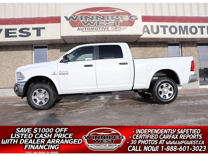 2018 Dodge Ram 2500 OUTDOORSMAN CREW CUMMINS DIESEL 4X4 LOW KM, CLEAN! #DW5267A
