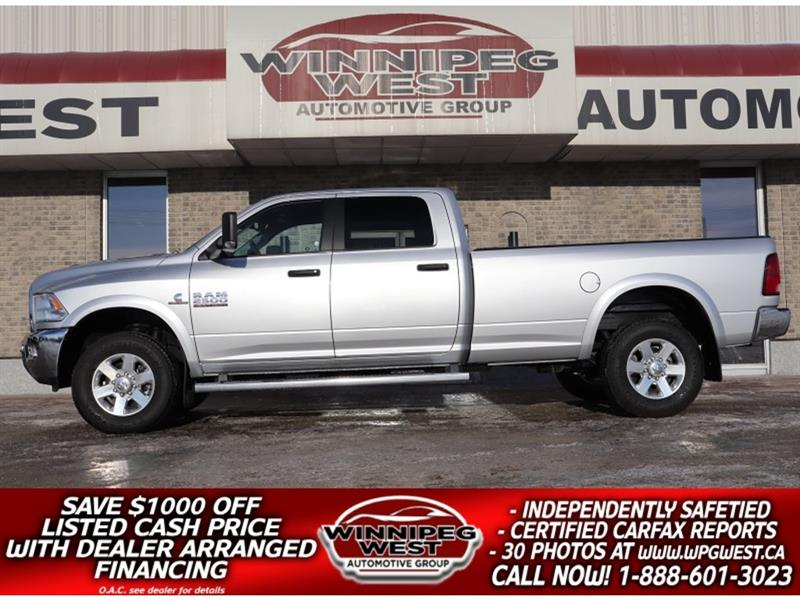 2014 Dodge Ram 2500 SLT+ CUMMINS DIESEL CREW 4X4, 8 FOOT BOX, NICE! #DW5183A