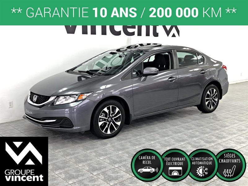 Honda Civic 2015 EX ** GARANTIE 10 ANS ** #K1299H