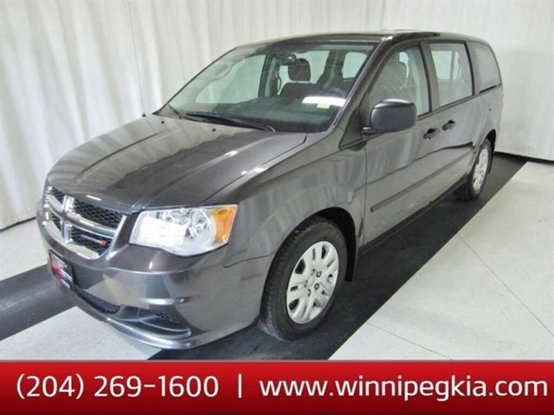 2017 Dodge Grand Caravan Canada Value Package #20SD561A