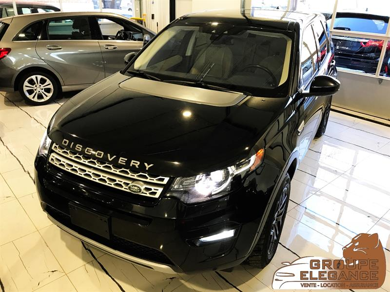 2017 Land Rover Discovery Sport HSE AWD - PANORAMIC ROOF, PUSH START, NAVIGATION,  #HH635593