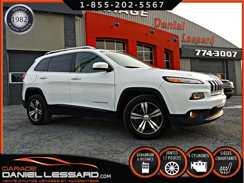 Jeep Cherokee 2015 WOW 57559KM, NORTH, V6 3.2L, TRACTION AVANT #59431