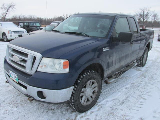 2008 Ford F-150 4WD SuperCab #1164-1-4