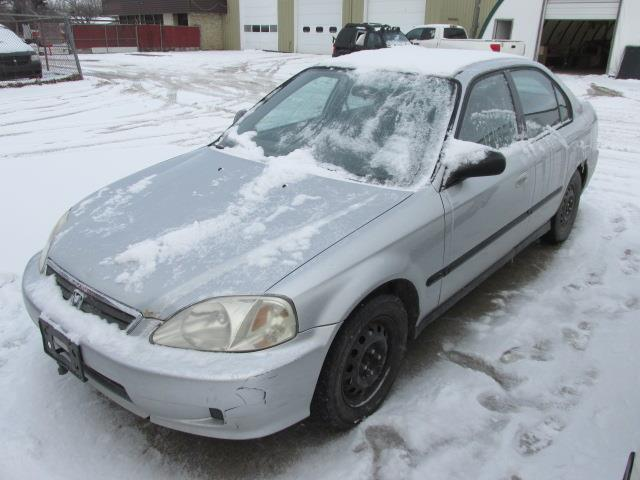 1999 Honda Civic 4dr Sdn Special Edition Auto #1164-1-7