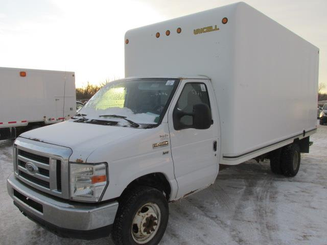 2010 Ford Econoline Commercial Cutaway E-450 Super Duty DRW #1164-1-90