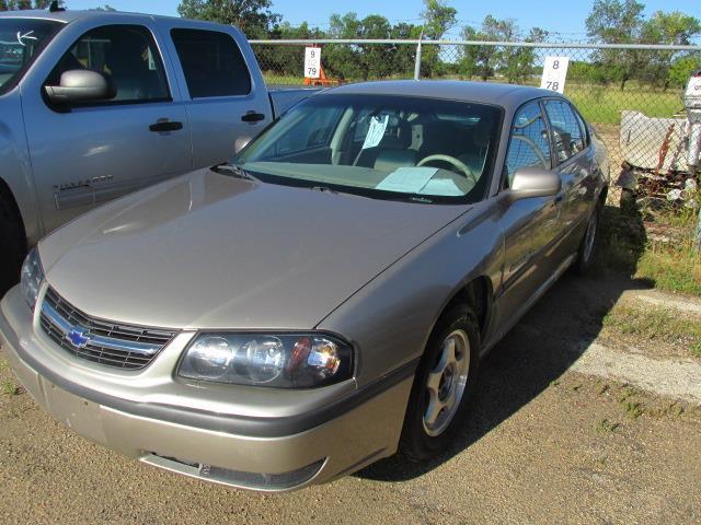 2002 Chevrolet Impala 4dr Sdn LS #1164-3-31