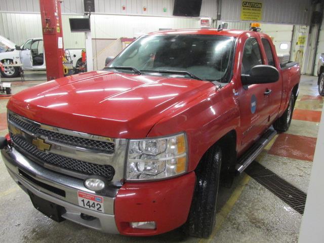 2012 Chevrolet Silverado 1500 4WD Ext Cab 143.5 LT #1165-1-29