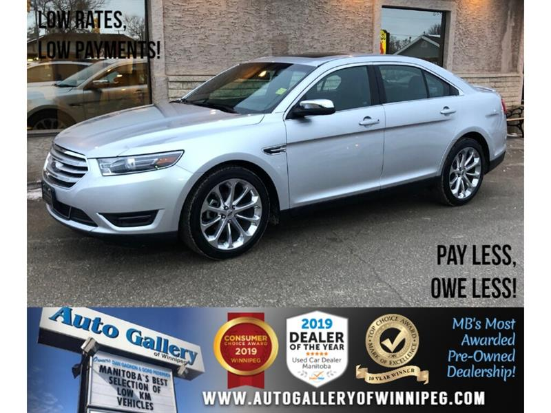 2017 Ford Taurus Limited *AWD/Navi/B.tooth/Htd Lthr/Roof #24232