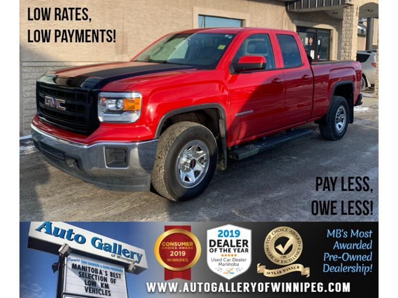 2015 GMC Sierra 1500 SLE *LOW KMs/4x4/5.3L V8/Chrome/Tonn.Cover #24251