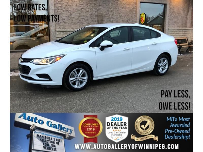 2018 Chevrolet Cruze LT *Accident Free/MB Unit/B.tooth/Htd Seats #24248