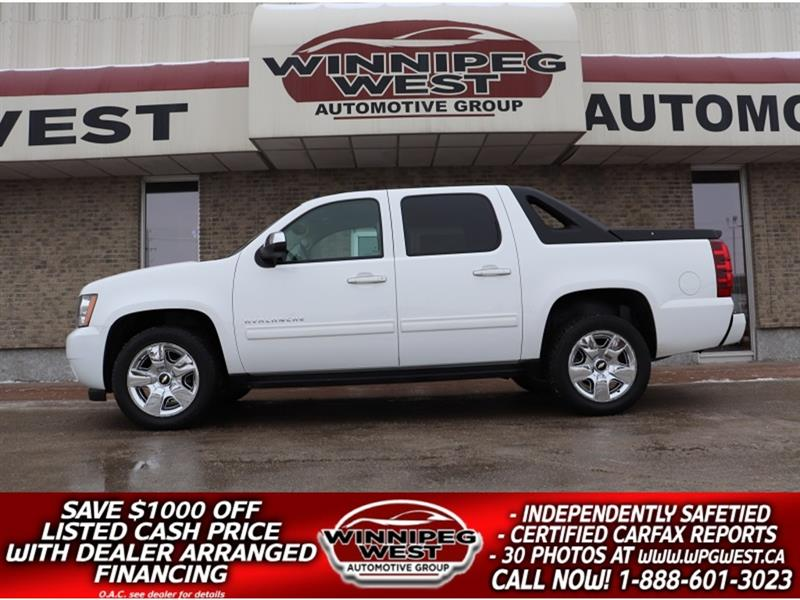2011 Chevrolet Avalanche LT2 1SC CREW CAB 5.3L 4X4, LEATHER,ROOF, DVD, LOAD #GW5385