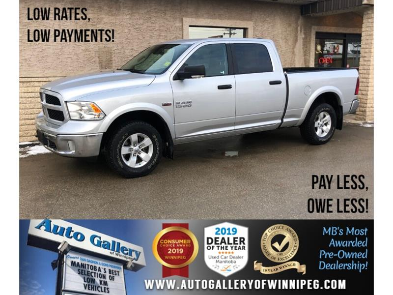 2017 Ram 1500 Outdoorsman *4x4/Navi/B.tooth/Htd Seats/Hemi #24208