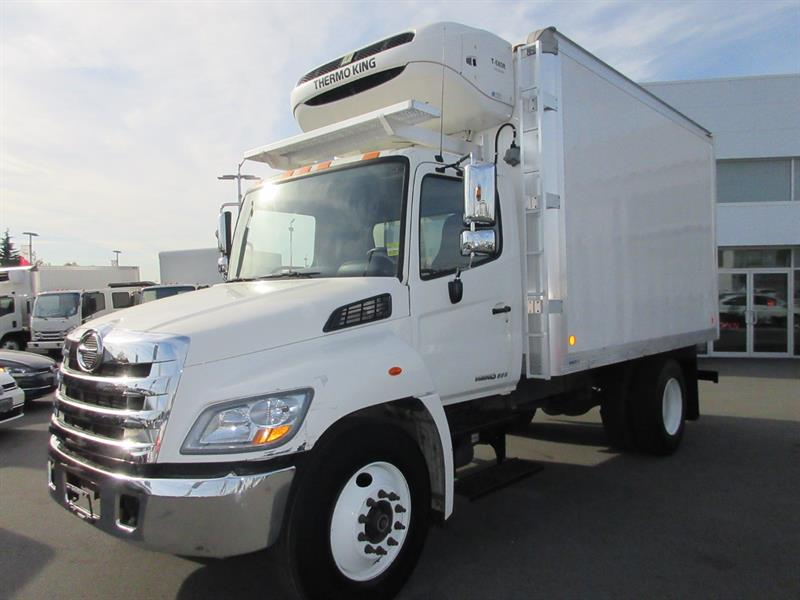 2015 Hino 268 Conventional 14Ft ThermoKing 680R Reefer