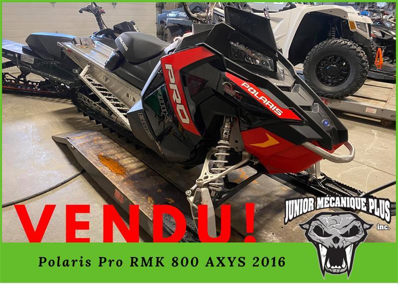 Polaris 800 Pro RMK 2016