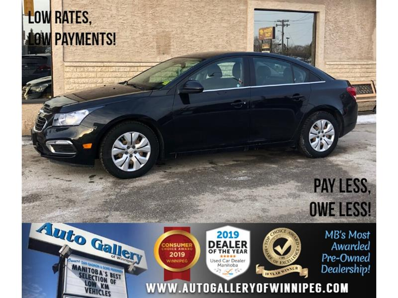 2016 Chevrolet Cruze LT *Local MB Unit/Bluetooth/Backup Camera #24260
