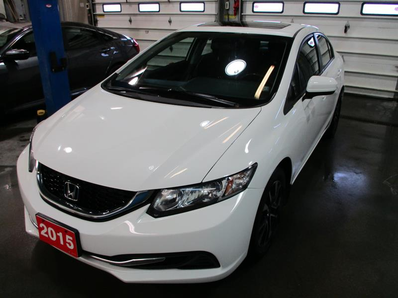 2015 Honda Civic Sedan 4dr Man EX 5 SPEED #FH009752A