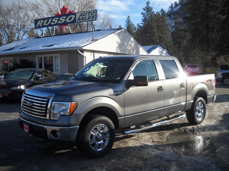 2010 Ford F-150 XTR SuperCrew 4X4 ONLY 134 KMS #3452