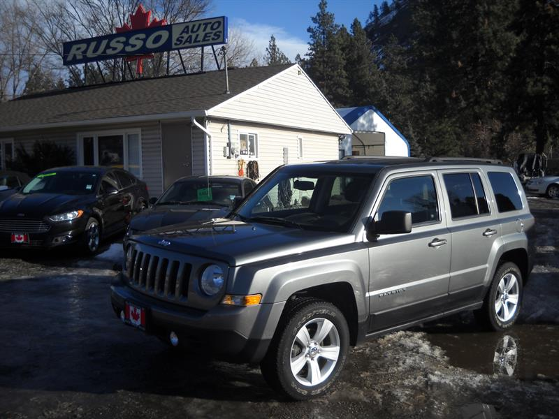 2012 Jeep Patriot AWD ONLY 140  KMS #3456