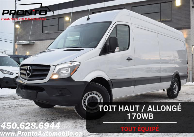2015 Mercedes-Benz Sprinter Cargo Vans 2500 170WB ** HAUT/LONG ** Extended HR **   #1190