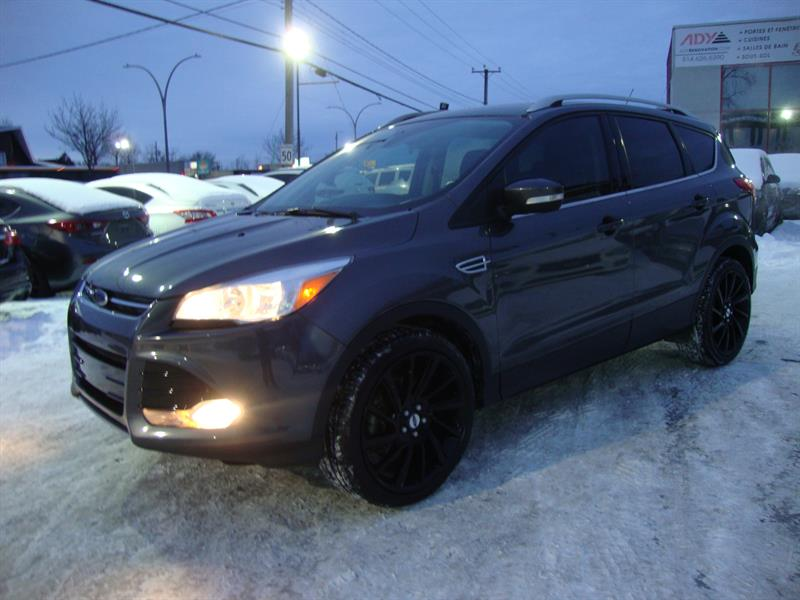 2016 Ford Escape 4WD TITANIUM NAVI-PANO ROOF-CUIR- 20MAGS #S52-4409