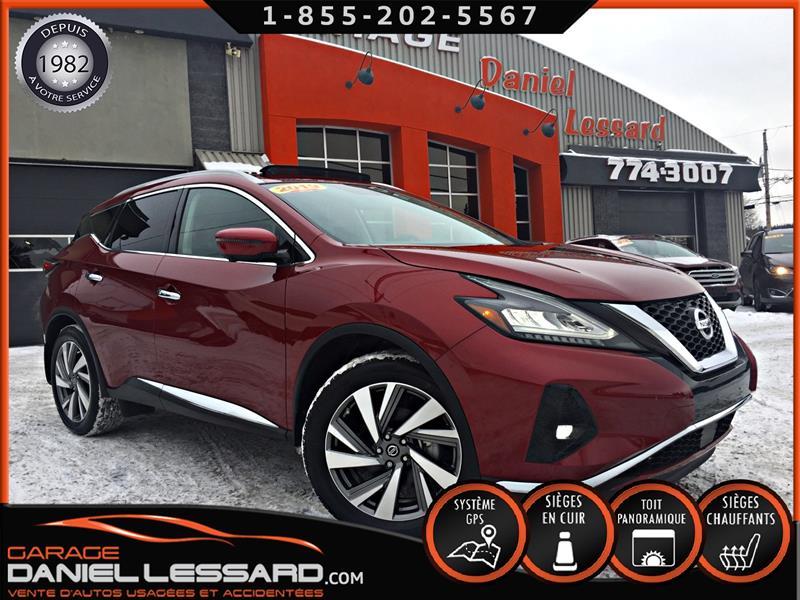 Nissan Murano 2019 SL, AWD, ** PAS VGA ** TOIT PANO, MAG 20 P, CUIR #90002