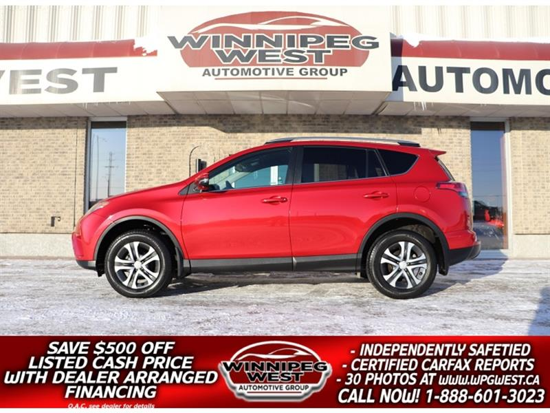 2017 Toyota RAV4 * *$169 B/W**LE AWD, HTD SEATS, BACKUP CAM, LOADED #GIW5412