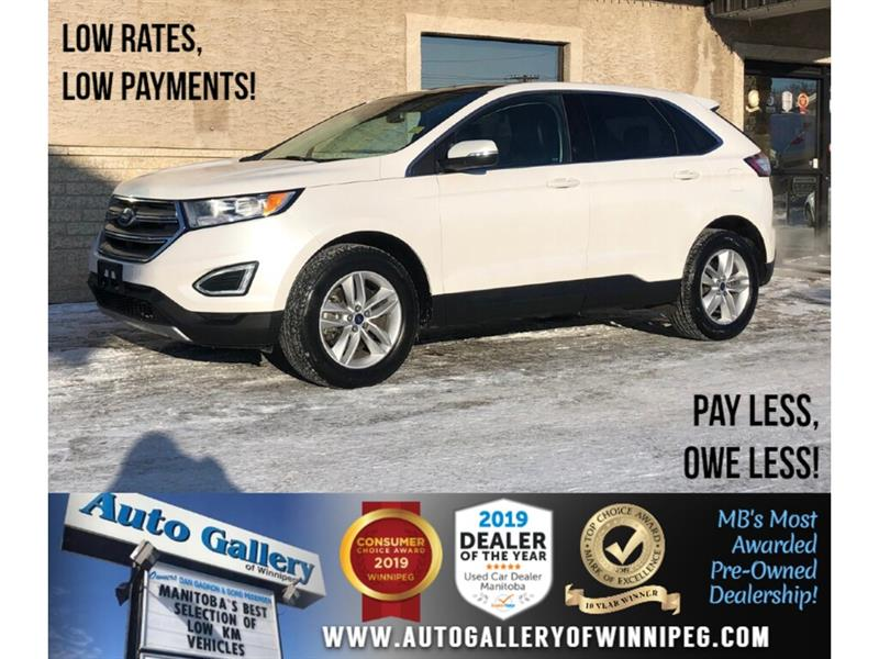 2017 Ford EDGE SEL *AWD/Navi/B.tooth/Htd Lthr/Pano Roof #24263