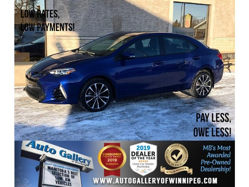 2017 Toyota Corolla SE *Local MB Unit/Navi/B.tooth/Htd Lthr/Roof #24262