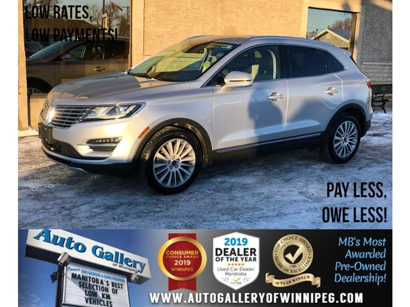 2015 Lincoln MKC *AWD/Navi/B.tooth/Htd Lthr/Pano Roof/Pwr Gate #24261