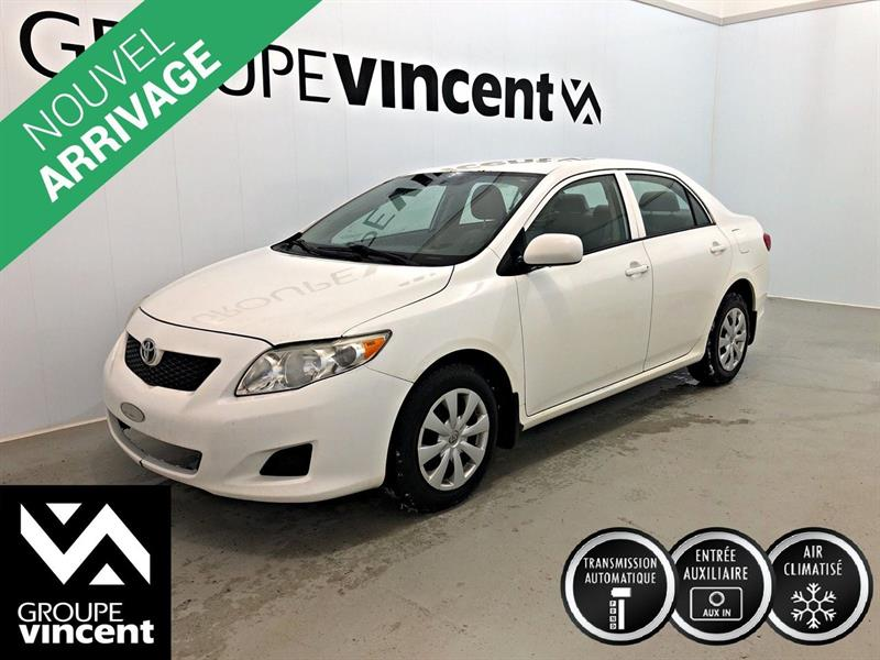 Toyota Corolla 2010 CE ** CLIMATISEUR ** #9-222AT-V