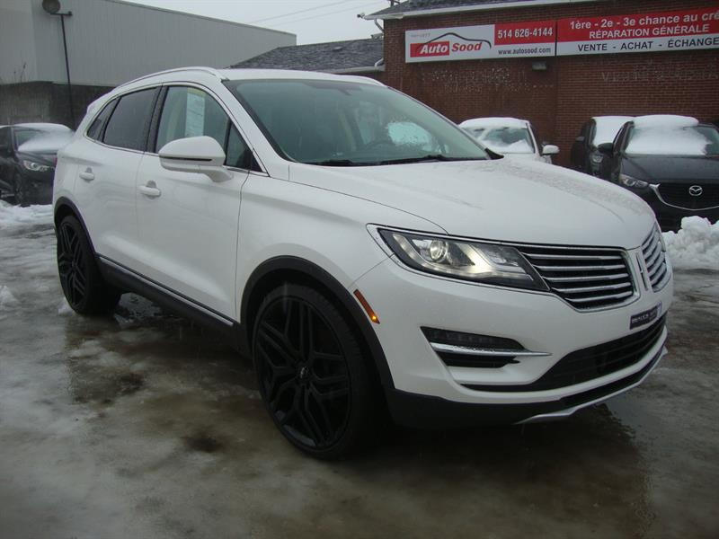 2016 Lincoln MKC LIMITED AWD NAV-TECH-PANO ROOF-22MAGS #M27-6460