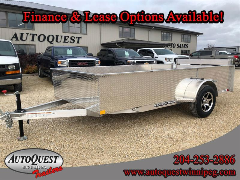 2020 Stronghaul 66 x 12' Solid Side Aluminum Utility Trailer