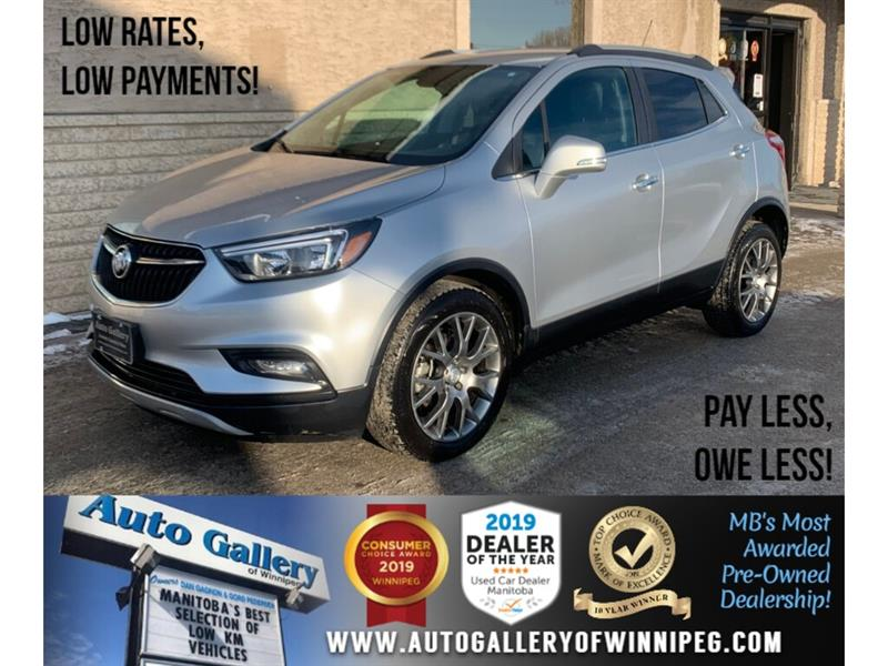2017 Buick Encore Sport Touring *MB Unit/FWD/Navi/B.tooth/Half Lthr #24249