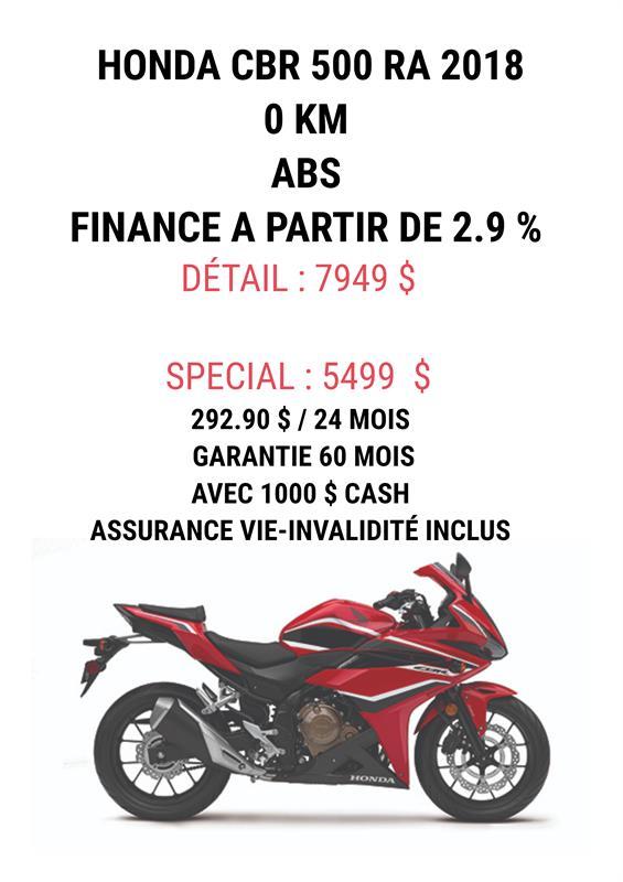 Honda CBR500RA 2018