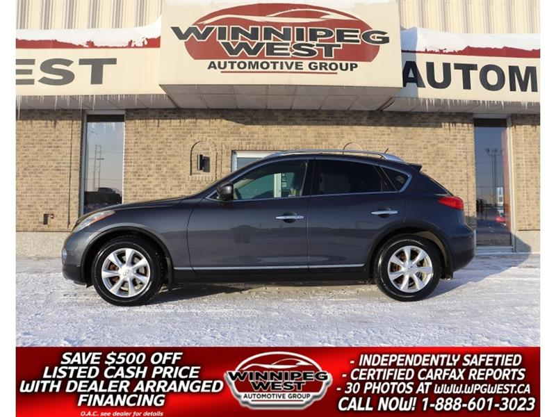 2010 Infiniti EX35 V6 AWD, LEATHER, SUNROOF ,BOSE AUDIO, CLN & SHARP #GIW5443
