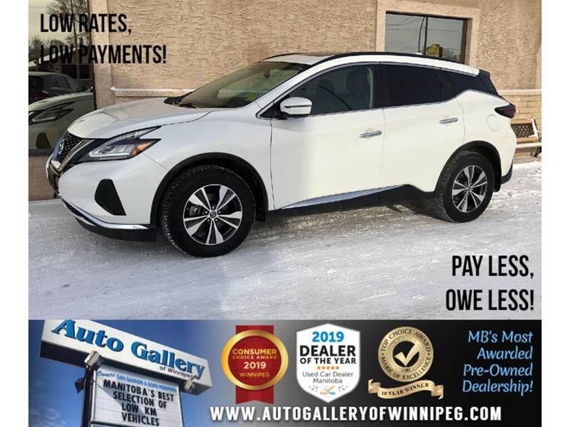 2019 Nissan Murano SV *AWD/Navi/B.tooth/Htd Sts/Pano Roof/Pwr Gate #24275