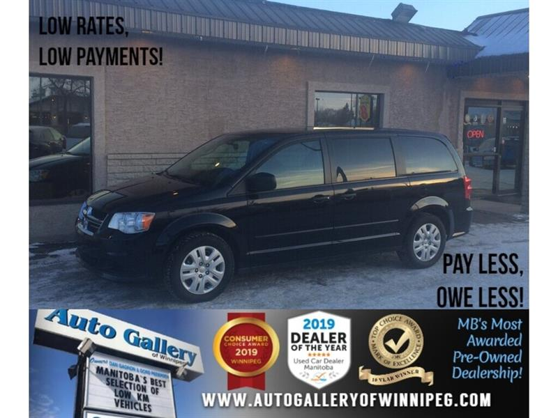 2016 Dodge Grand Caravan CVP *7Pass/V6 #24222