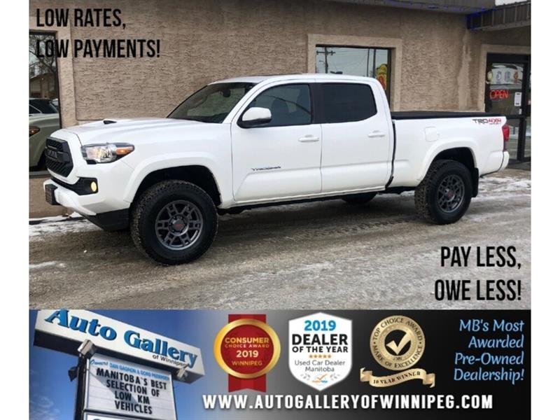 2017 Toyota Tacoma SR5 *Lift/4x4/Navi/B.tooth/Htd Seats/Crew Cab/V6 #24227